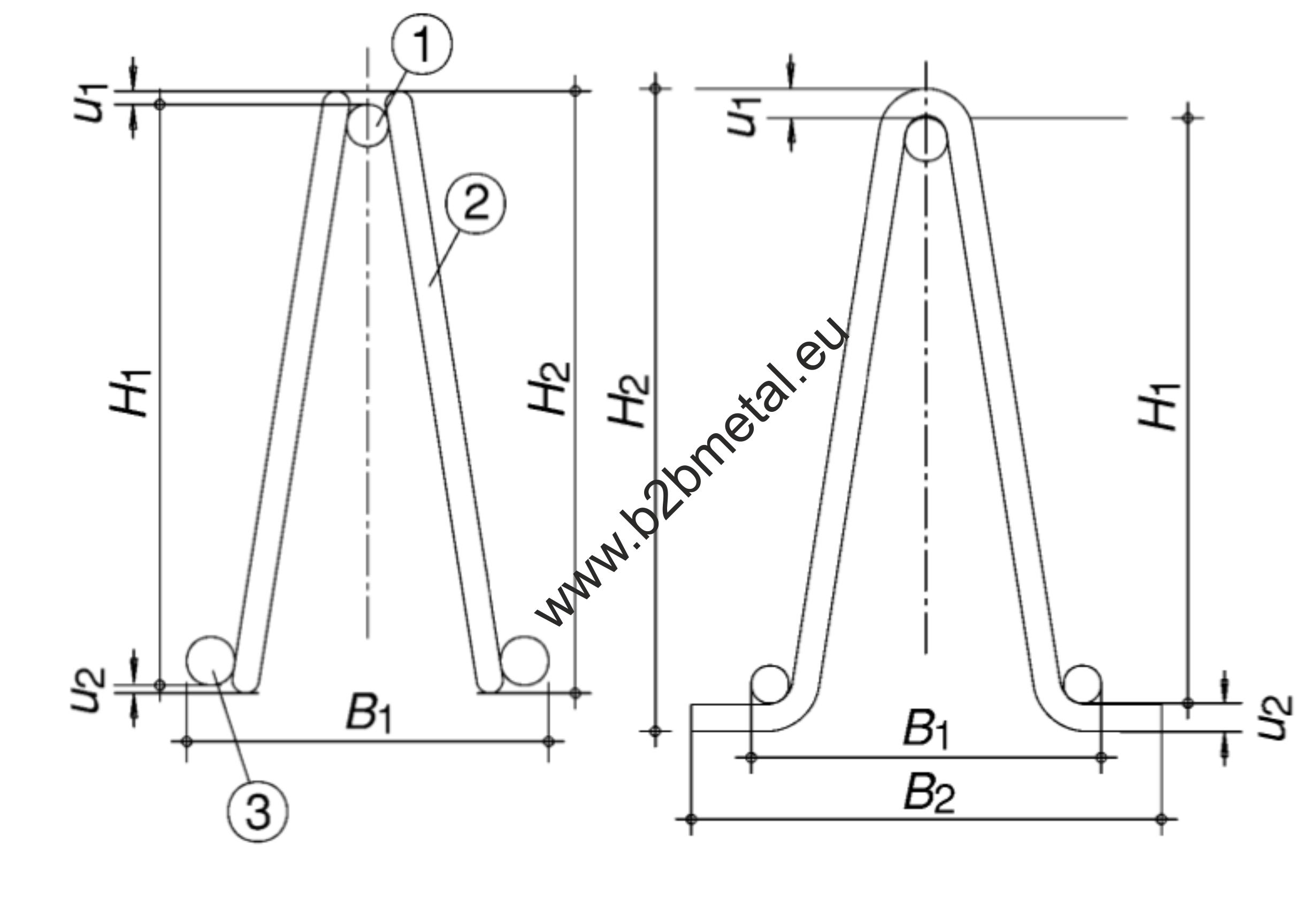 EN 10080 Lattice girders Designation